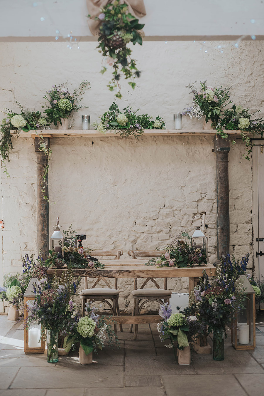 Kath & Adam's creative, DIY wedding at Wyresdale park, with Love Gets Sweeter and Claire Basiuk Photography (16)