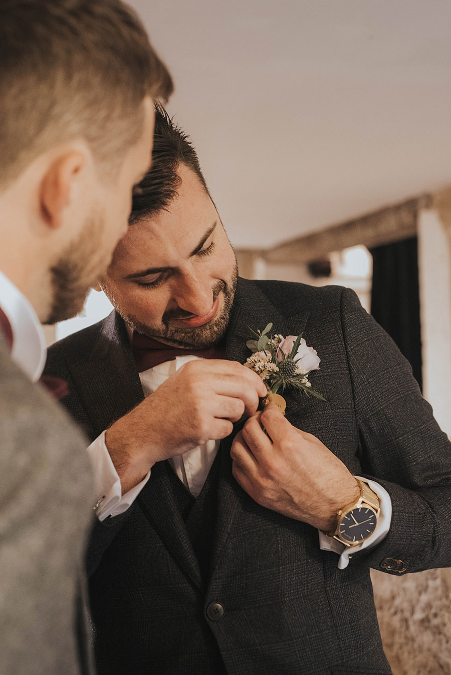 Kath & Adam's creative, DIY wedding at Wyresdale park, with Love Gets Sweeter and Claire Basiuk Photography (19)