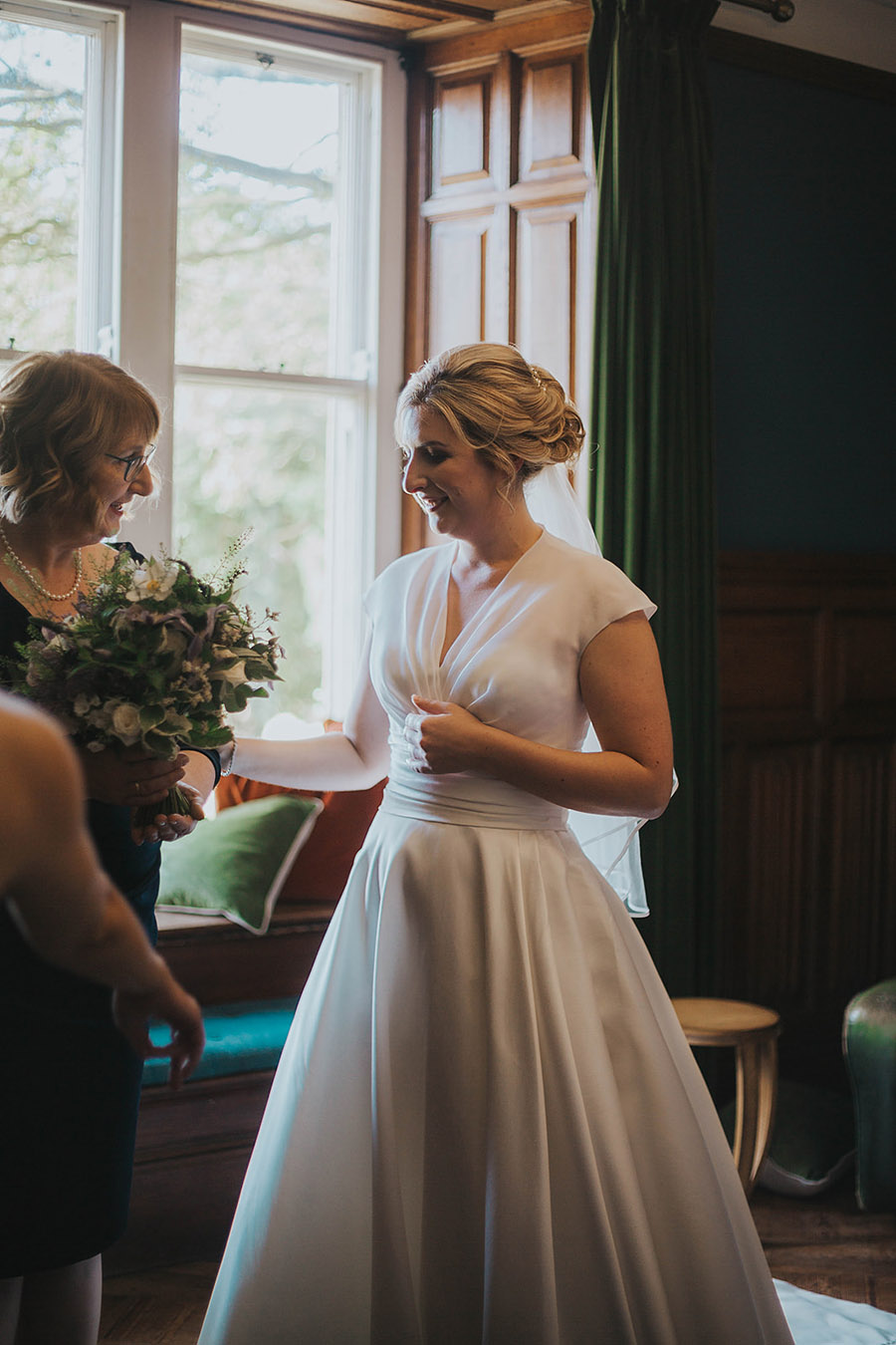 Kath & Adam's creative, DIY wedding at Wyresdale park, with Love Gets Sweeter and Claire Basiuk Photography (20)