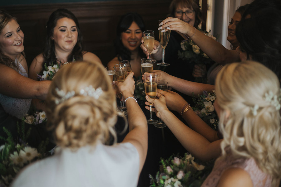 Kath & Adam's creative, DIY wedding at Wyresdale park, with Love Gets Sweeter and Claire Basiuk Photography (22)