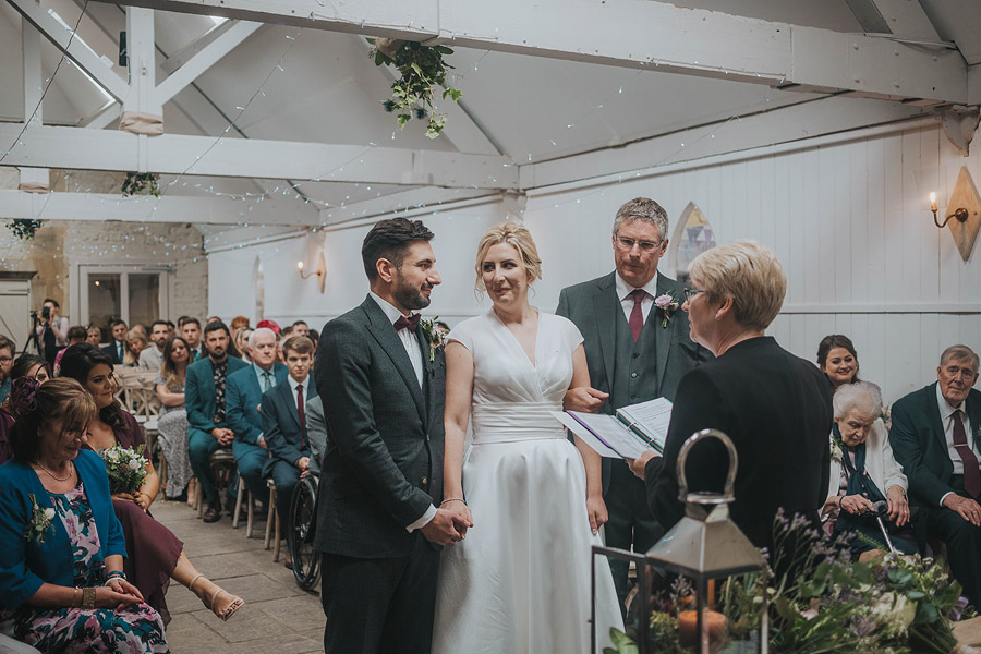 Kath & Adam's creative, DIY wedding at Wyresdale park, with Love Gets Sweeter and Claire Basiuk Photography (23)