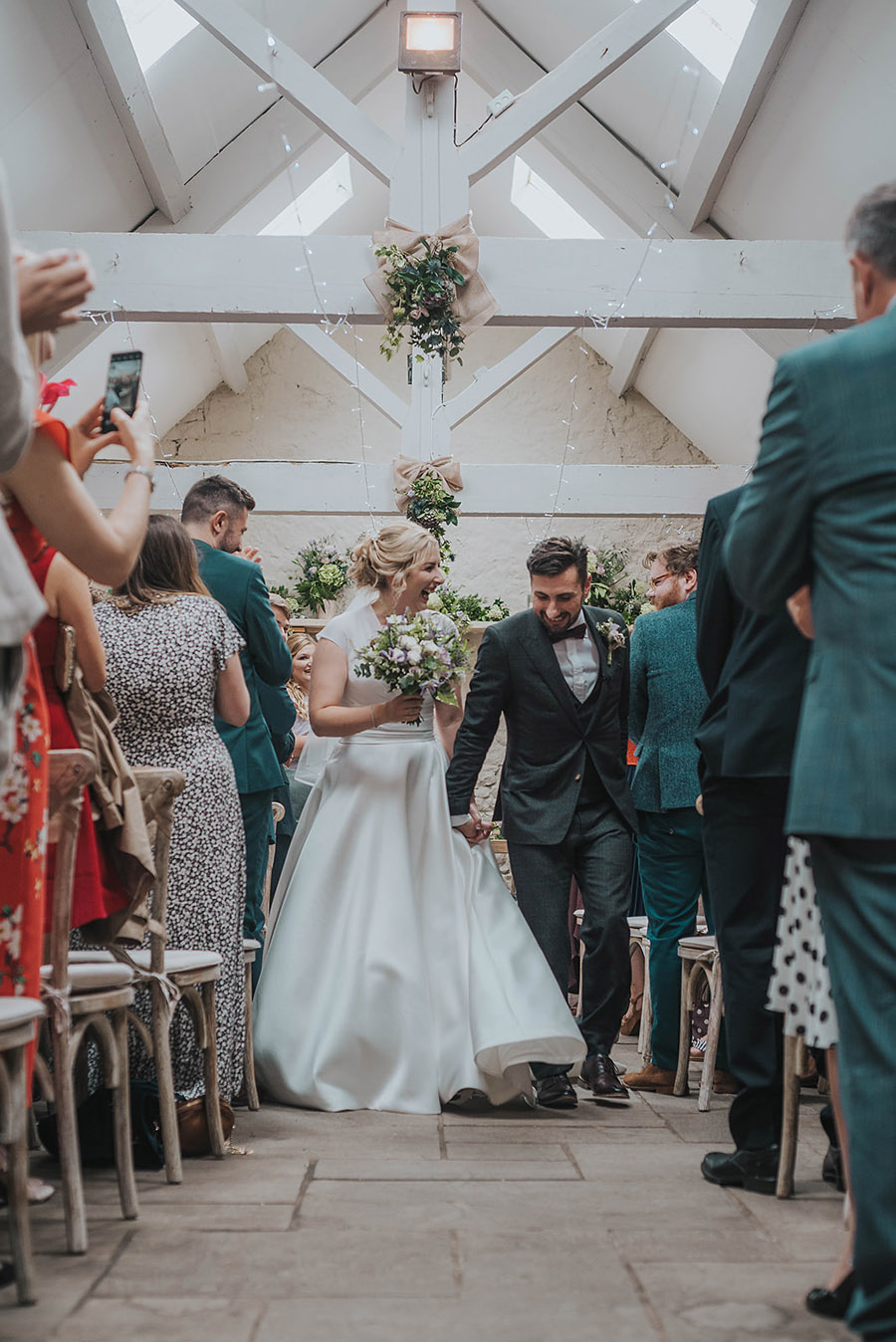 Kath & Adam's creative, DIY wedding at Wyresdale park, with Love Gets Sweeter and Claire Basiuk Photography (24)