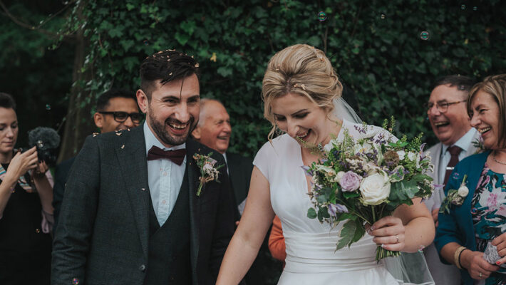 Kath & Adam's creative, DIY wedding at Wyresdale park, with Love Gets Sweeter and Claire Basiuk Photography (3)