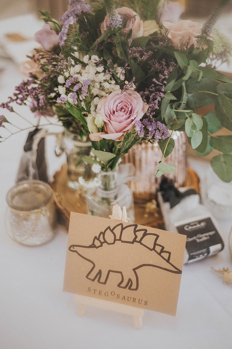 Kath & Adam's creative, DIY wedding at Wyresdale park, with Love Gets Sweeter and Claire Basiuk Photography (2)