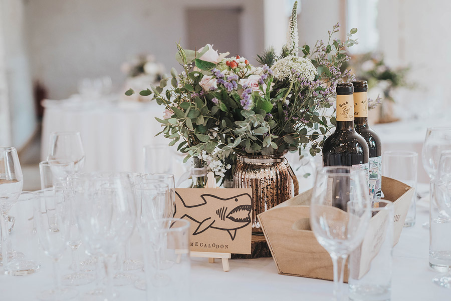 Kath & Adam's creative, DIY wedding at Wyresdale park, with Love Gets Sweeter and Claire Basiuk Photography (11)