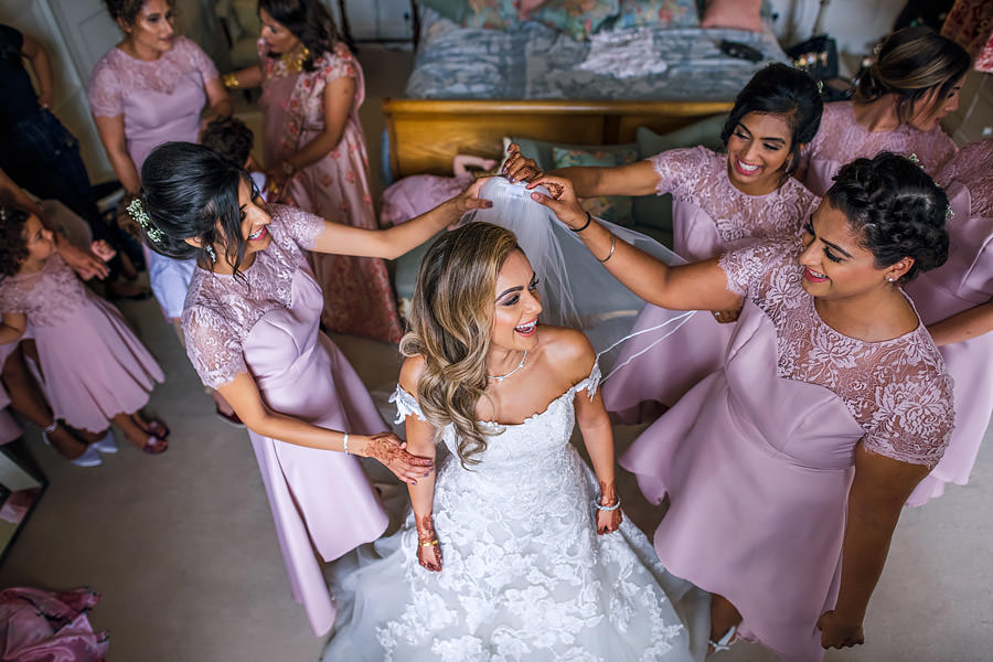 Shayan & Amo's elegant Elmore Court wedding and vibrant Indian reception, with Dan Morris Photography (8)