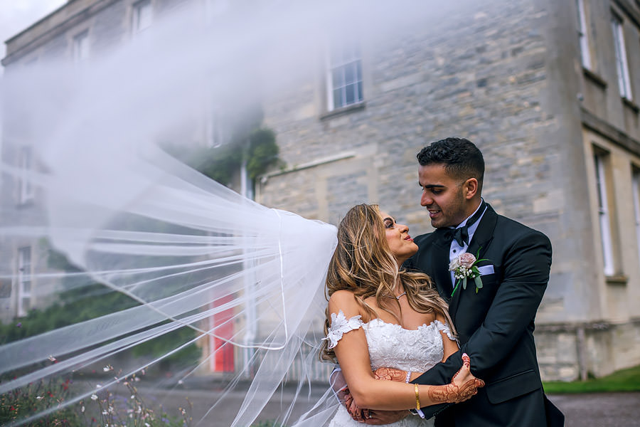 Shayan & Amo's elegant Elmore Court wedding and vibrant Indian reception, with Dan Morris Photography (32)