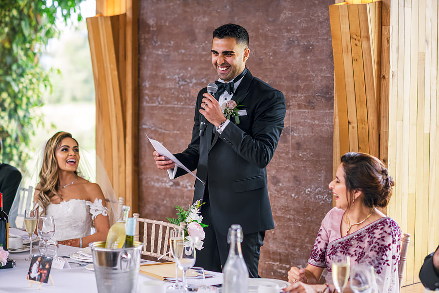 Shayan & Amo's elegant Elmore Court wedding and vibrant Indian reception, with Dan Morris Photography (38)