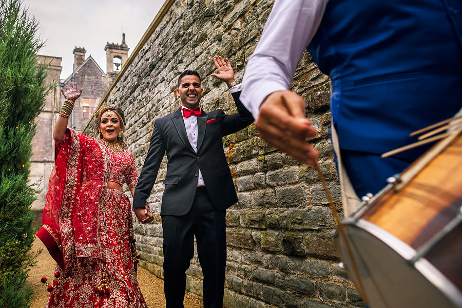 Shayan & Amo's elegant Elmore Court wedding and vibrant Indian reception, with Dan Morris Photography (43)