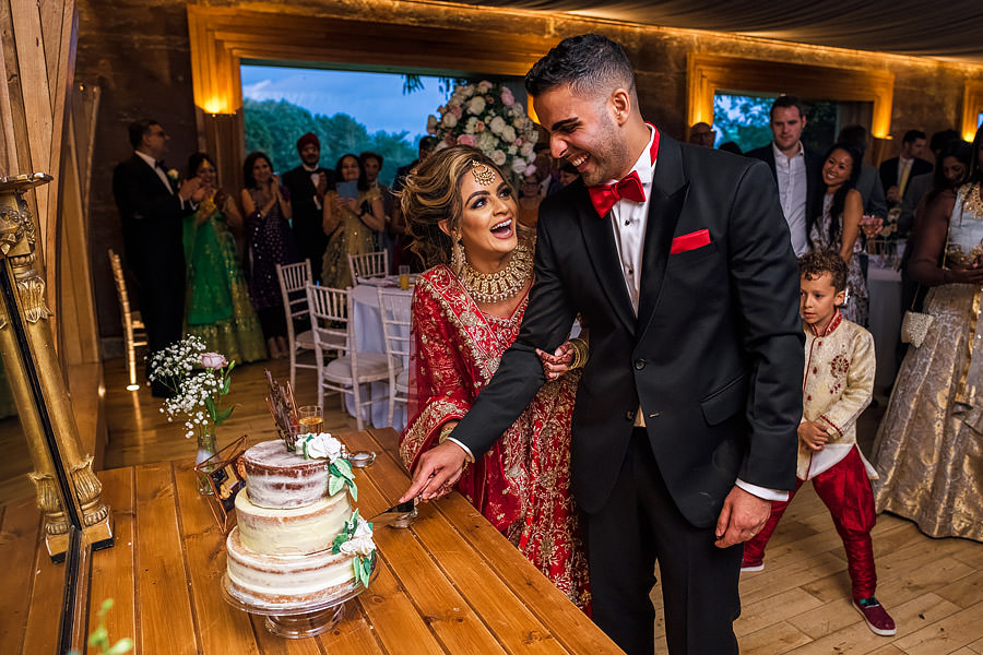 Shayan & Amo's elegant Elmore Court wedding and vibrant Indian reception, with Dan Morris Photography (44)