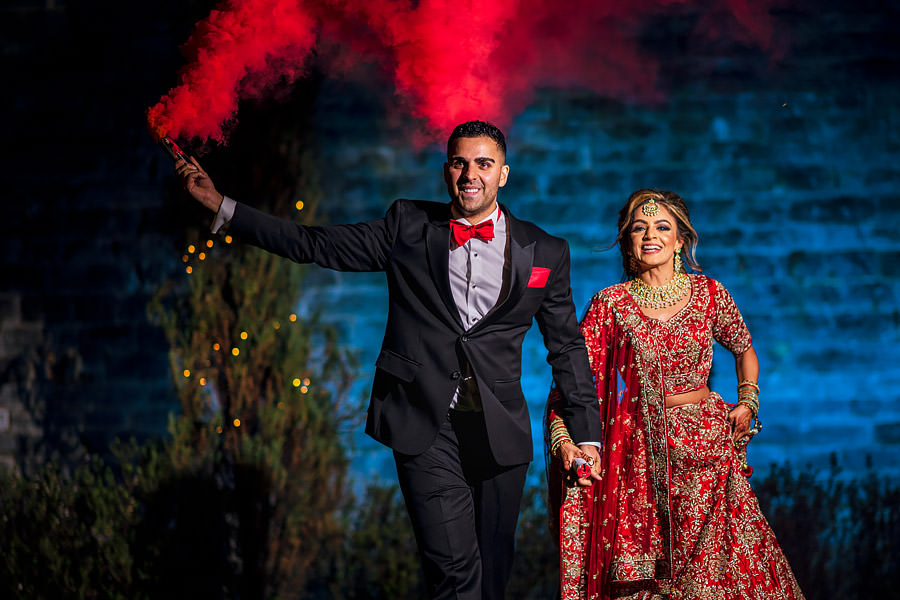 Shayan & Amo's elegant Elmore Court wedding and vibrant Indian reception, with Dan Morris Photography (52)