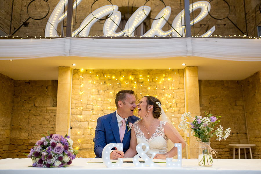 Jon & Claire's elegant rustic Great The Barn wedding, with Martin Dabek Photography (9)