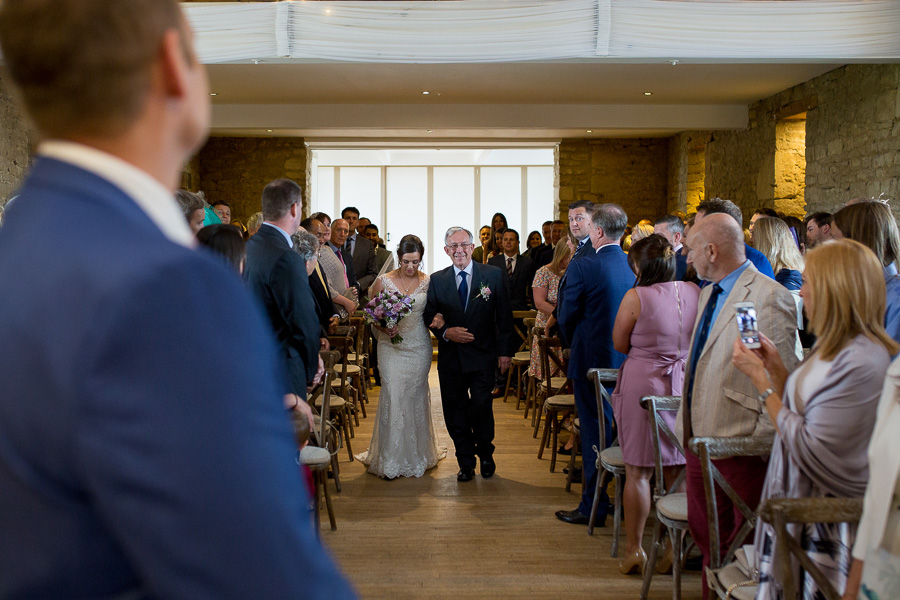 Jon & Claire's elegant rustic Great The Barn wedding, with Martin Dabek Photography (5)