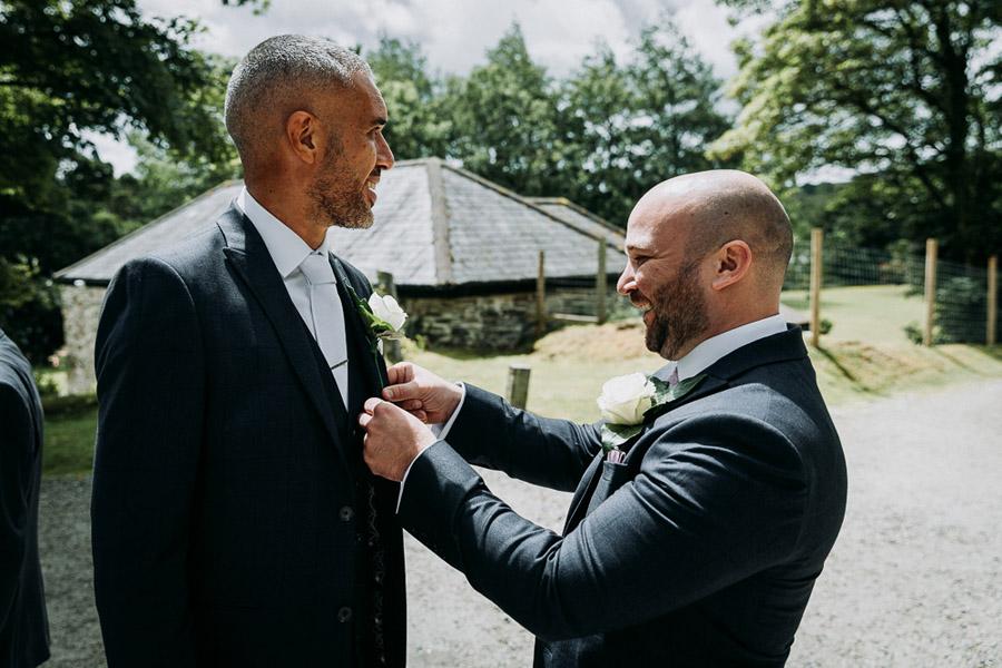 Hannah & Joel's elegant rustic Cornish wedding, with Alexa Poppe Wedding Photography (12)