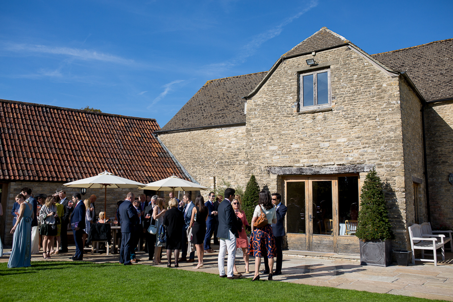Claire & Senaka's elegant rustic Kingscote Barn wedding, with Martin Dabek Photography (16)
