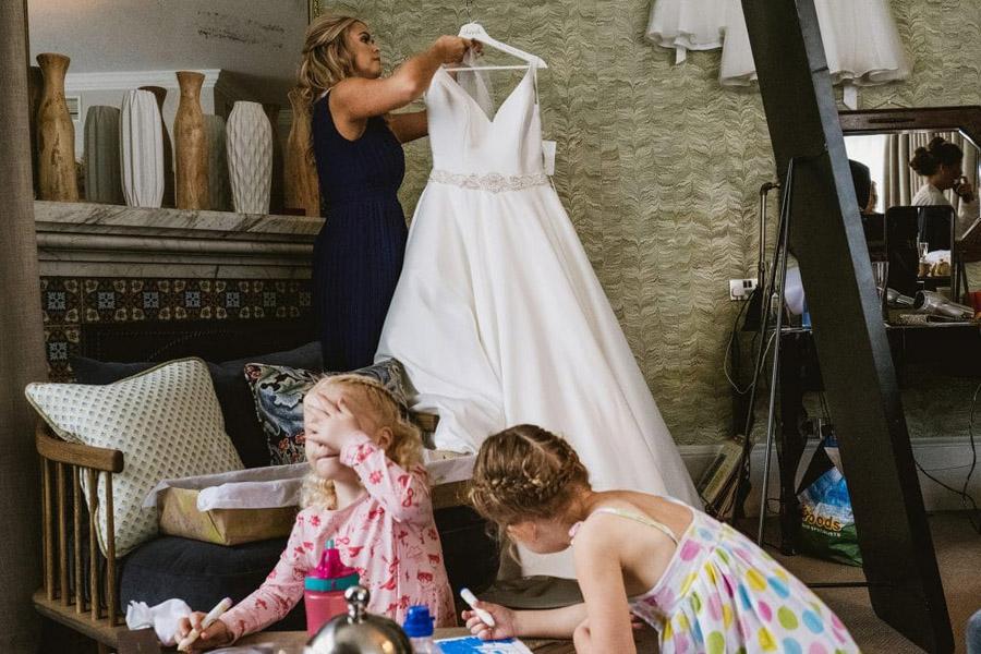 Sarah & Terry's brilliantly fun family wedding at Hampton Manor, with York Place Studios (5)