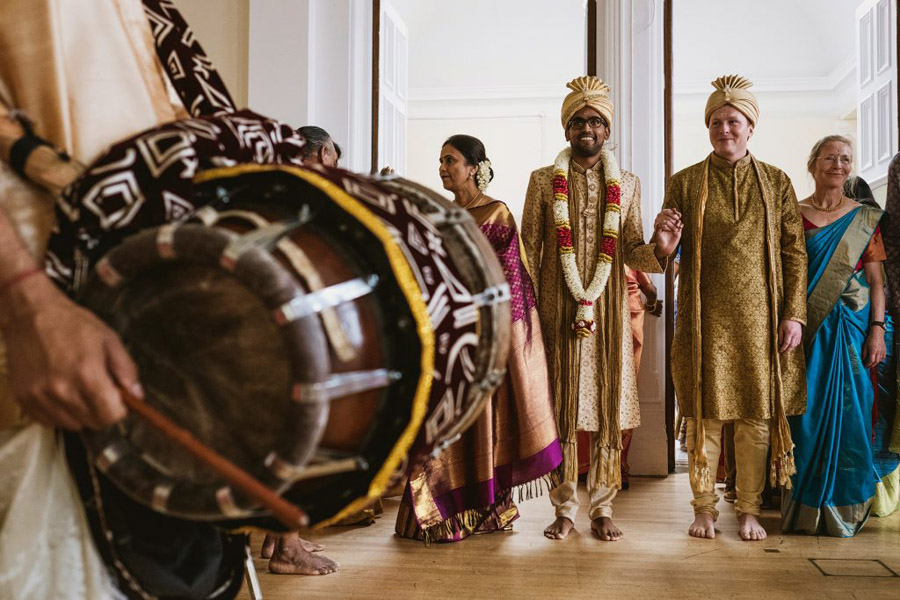 Two cultures, two glorious days of joyful London weddings for Cecil & Rona, with York Place Studios (39)