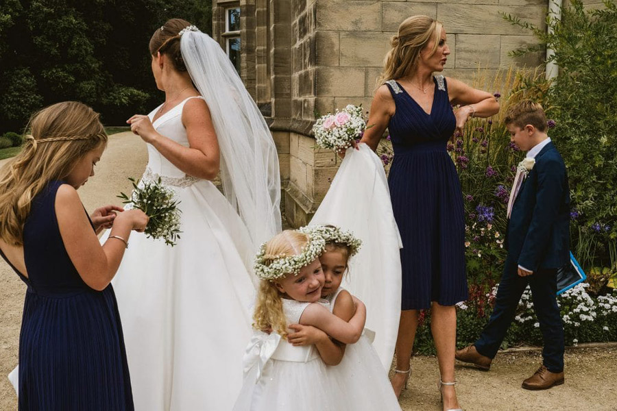 Sarah & Terry's brilliantly fun family wedding at Hampton Manor, with York Place Studios (11)