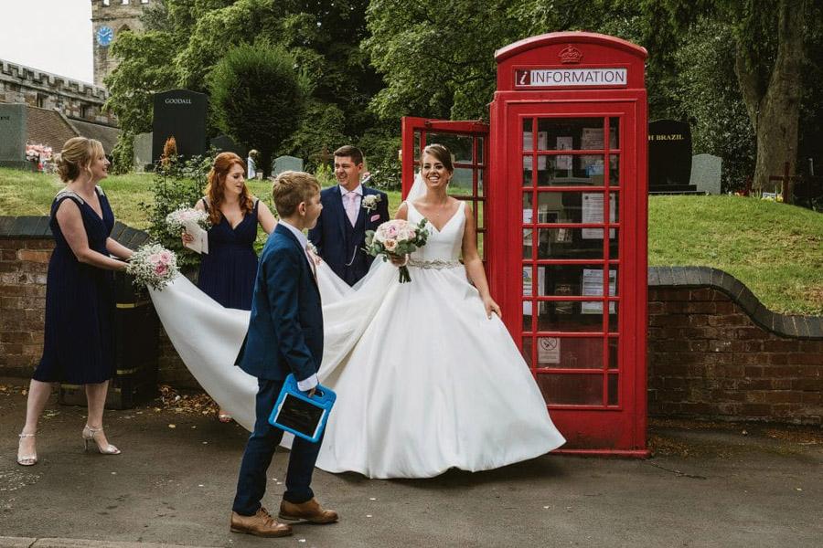 Sarah & Terry's brilliantly fun family wedding at Hampton Manor, with York Place Studios (21)