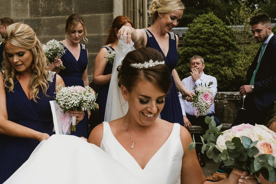 Sarah & Terry's brilliantly fun family wedding at Hampton Manor, with York Place Studios (28)