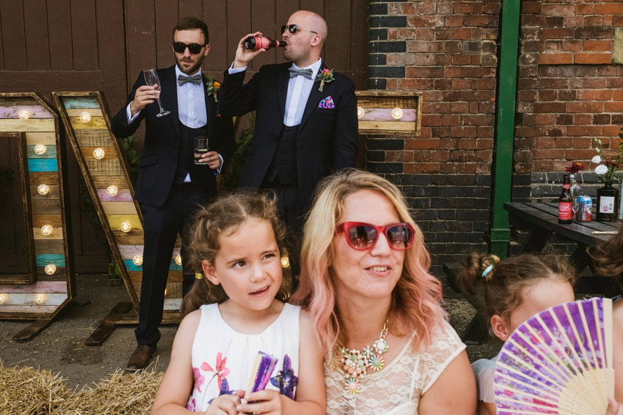 Vicky & Matt's family focused, fun East Anglian Railway Museum wedding, with York Place Studios (30)