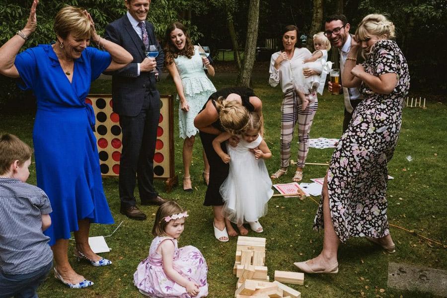 Sarah & Terry's brilliantly fun family wedding at Hampton Manor, with York Place Studios (40)