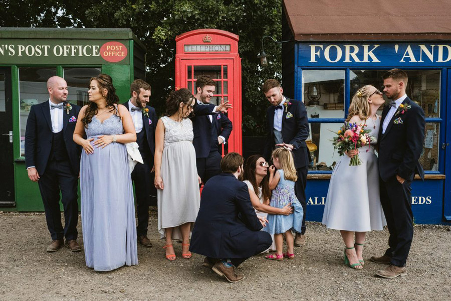Vicky & Matt's family focused, fun East Anglian Railway Museum wedding, with York Place Studios (34)