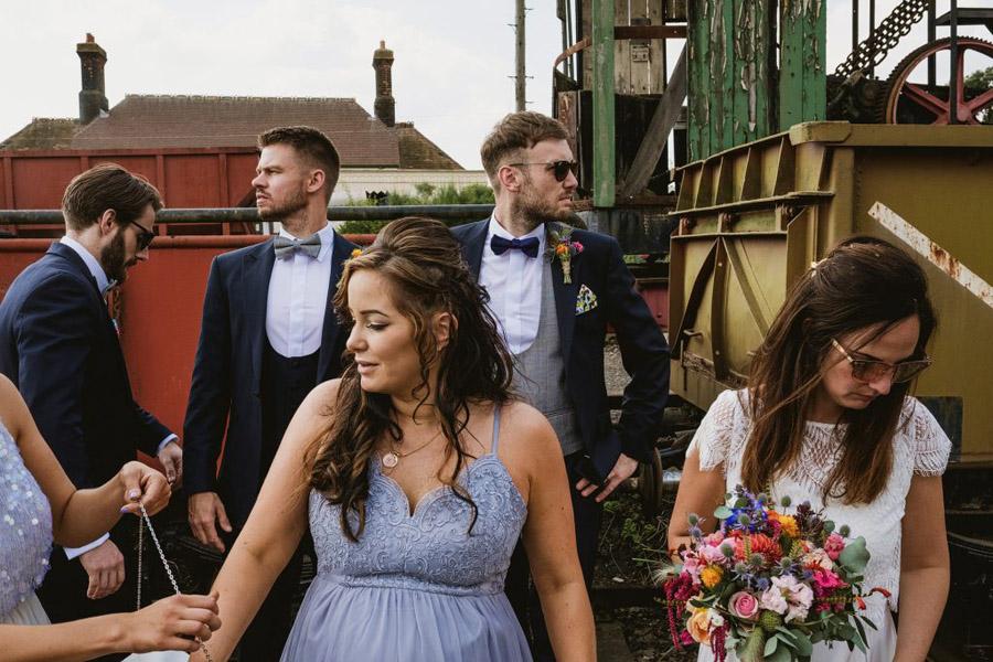 Vicky & Matt's family focused, fun East Anglian Railway Museum wedding, with York Place Studios (36)