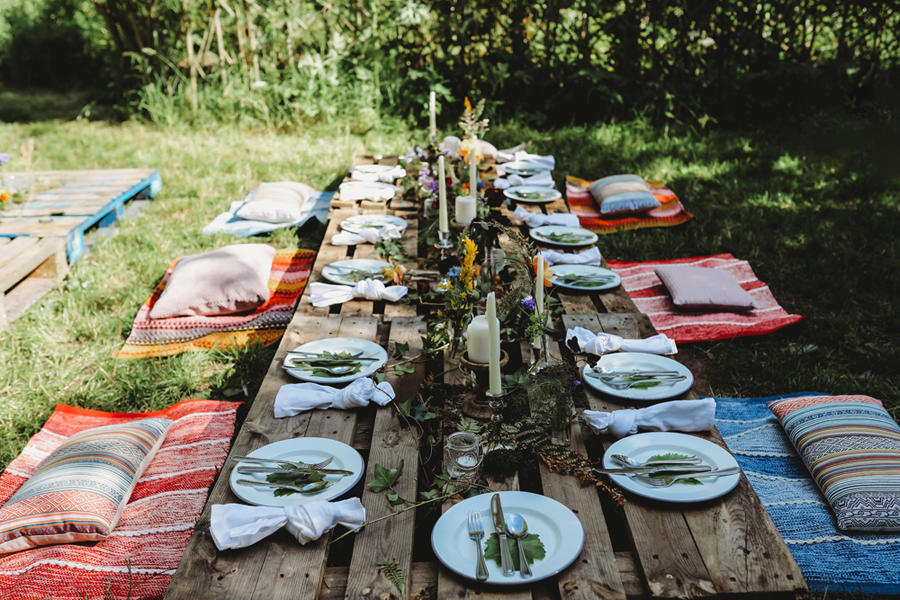 Wedding Catering, Styled Tables and Crockery Hire, with Enamelware Events (14)