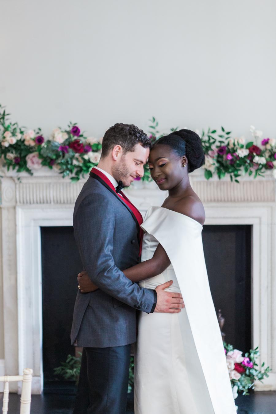 Breathtakingly beautiful - diversity wins in this stunning RSA London wedding editorial! (35)