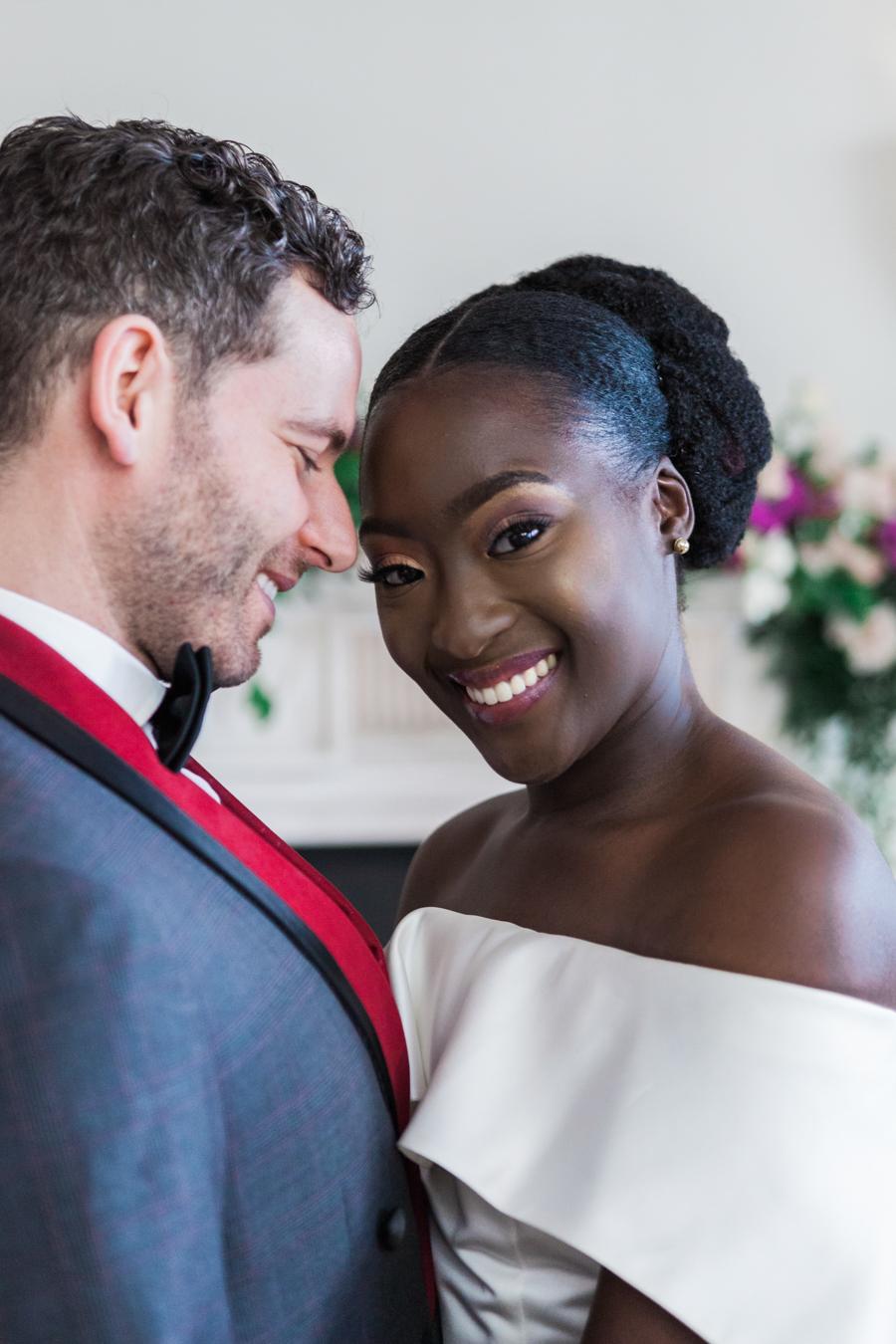 Breathtakingly beautiful - diversity wins in this stunning RSA London wedding editorial! (34)