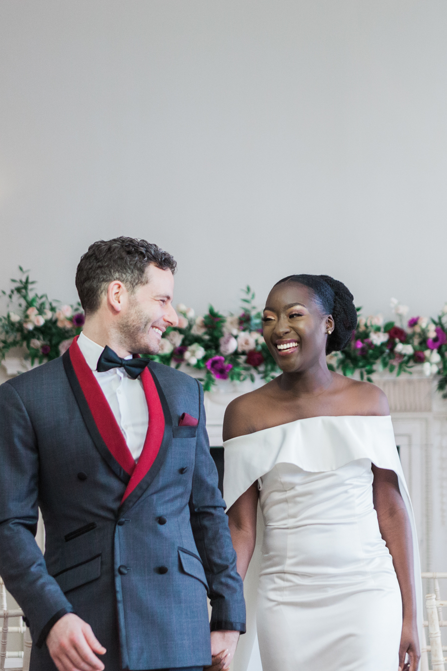 Breathtakingly beautiful - diversity wins in this stunning RSA London wedding editorial! (32)