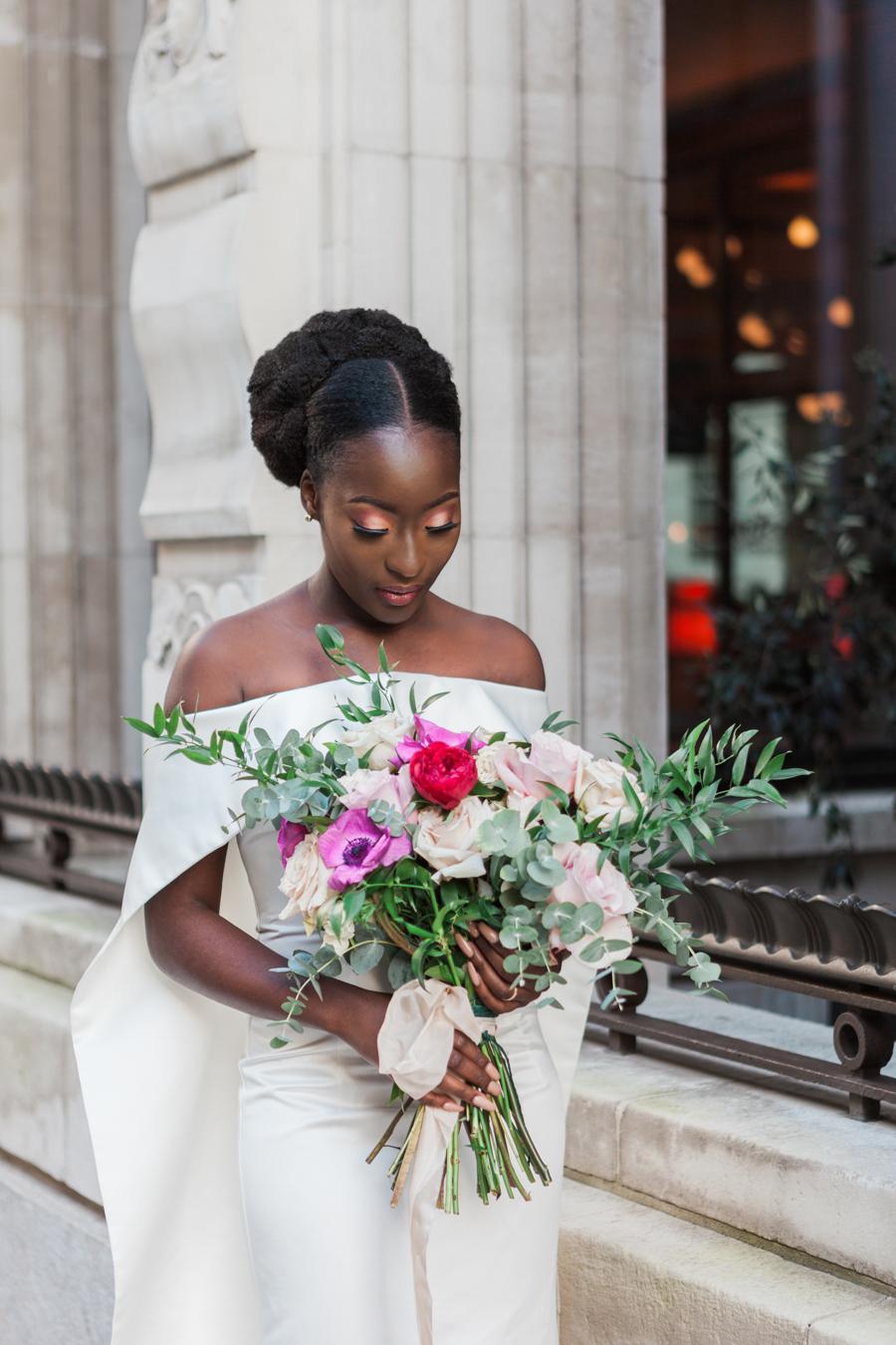 Breathtakingly beautiful - diversity wins in this stunning RSA London wedding editorial! (29)