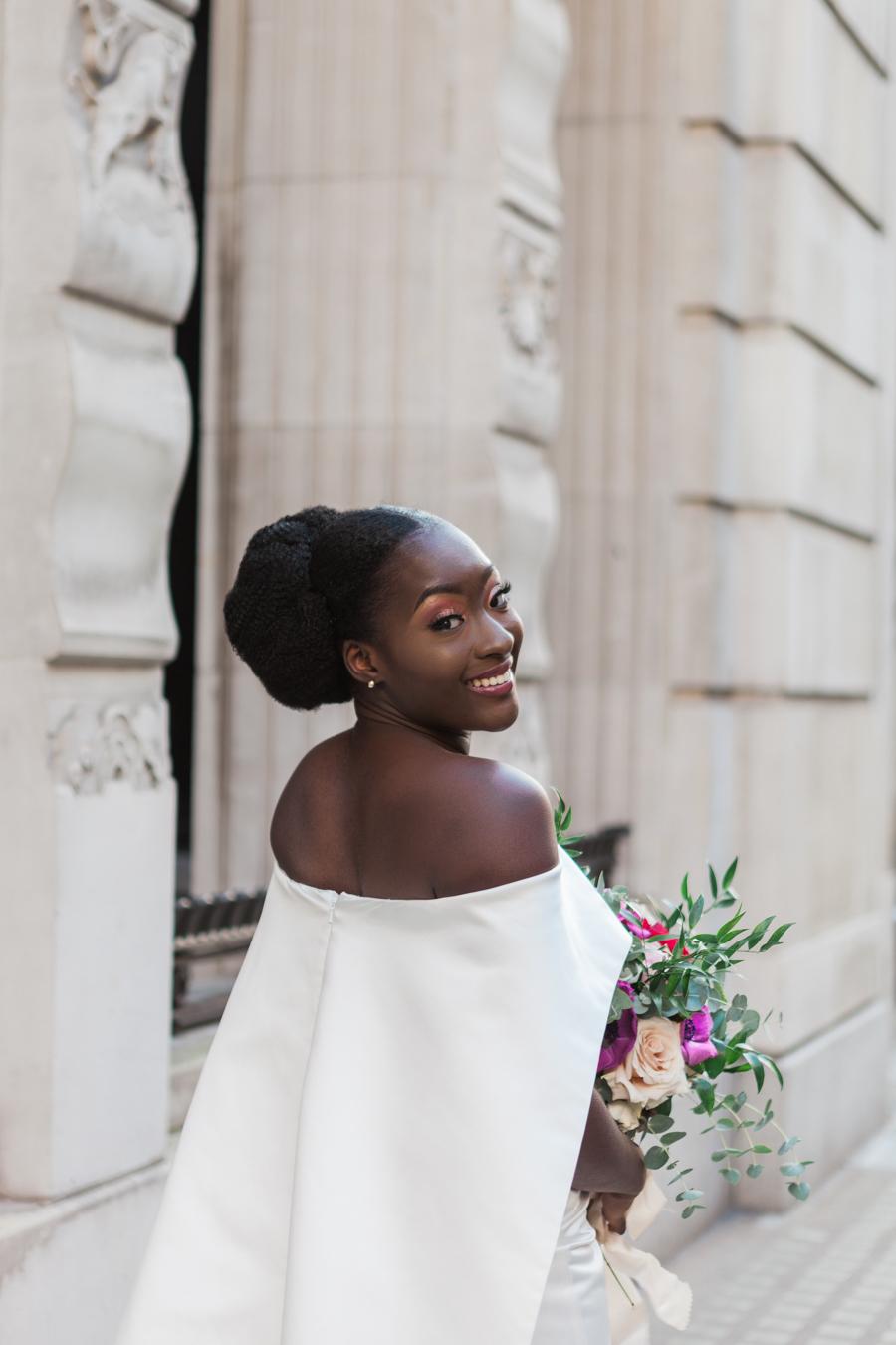 Breathtakingly beautiful - diversity wins in this stunning RSA London wedding editorial! (28)