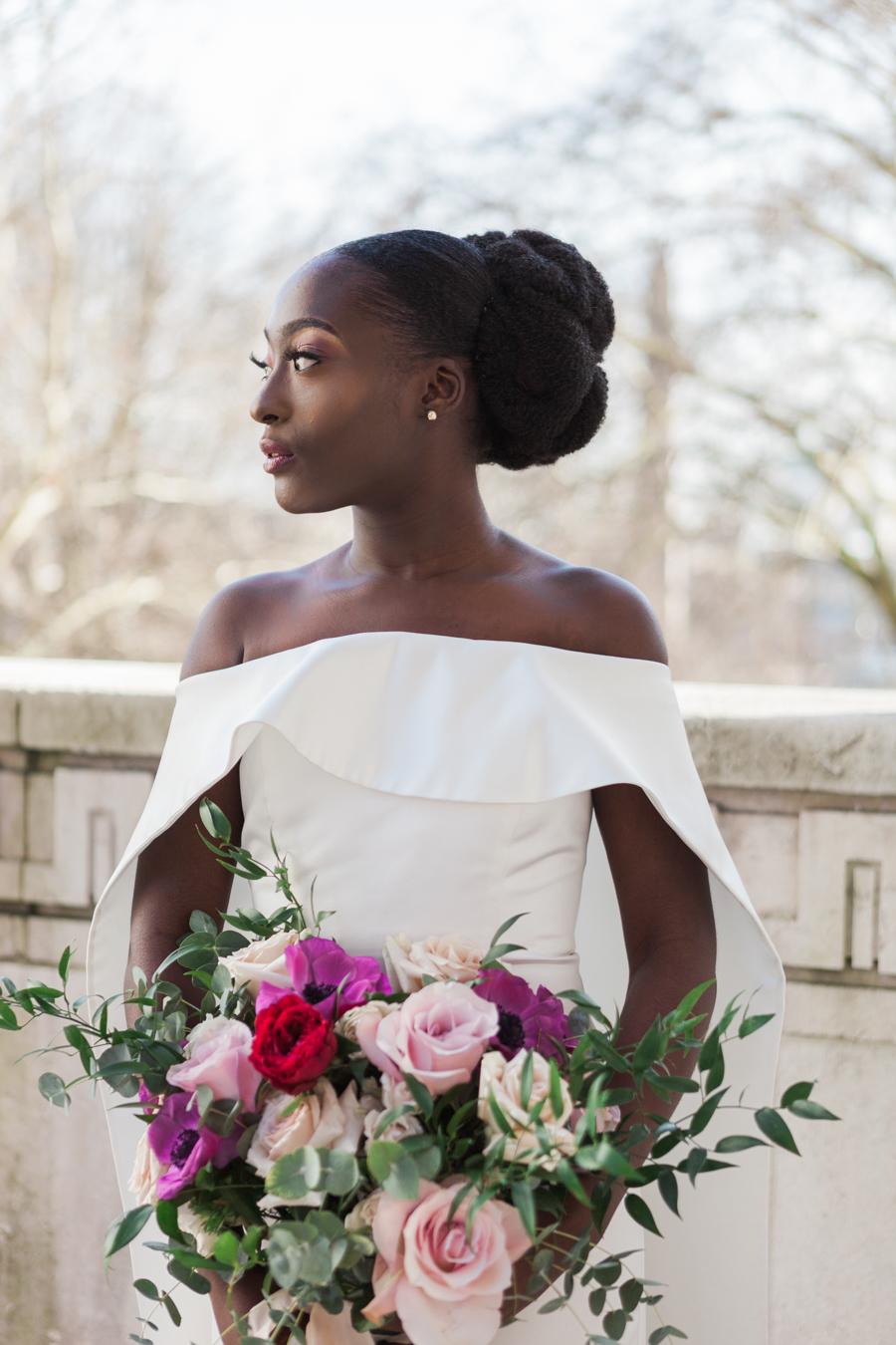 Breathtakingly beautiful - diversity wins in this stunning RSA London wedding editorial! (25)