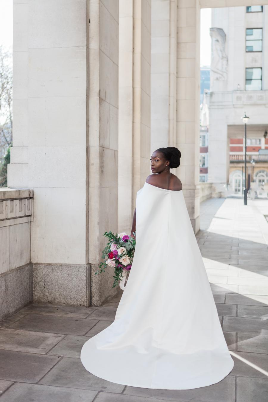 Breathtakingly beautiful - diversity wins in this stunning RSA London wedding editorial! (22)