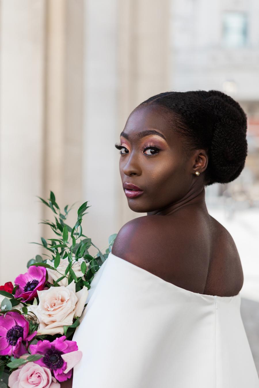 Breathtakingly beautiful - diversity wins in this stunning RSA London wedding editorial! (21)