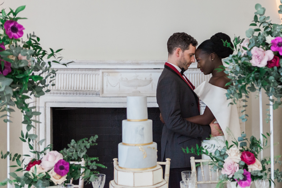 Breathtakingly beautiful - diversity wins in this stunning RSA London wedding editorial! (16)