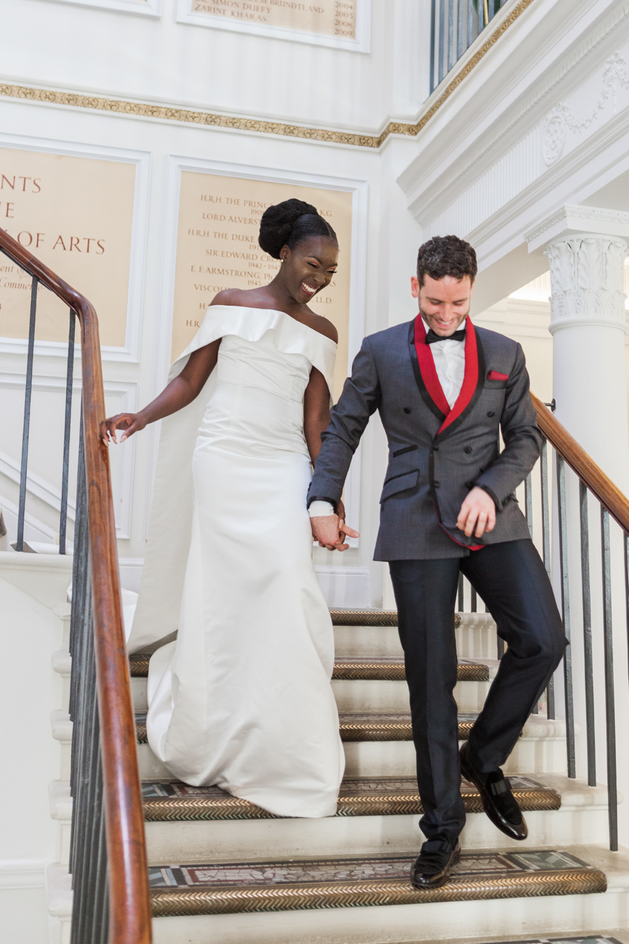 Breathtakingly beautiful - diversity wins in this stunning RSA London wedding editorial! (14)