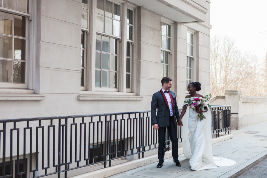 Breathtakingly beautiful - diversity wins in this stunning RSA London wedding editorial! (12)