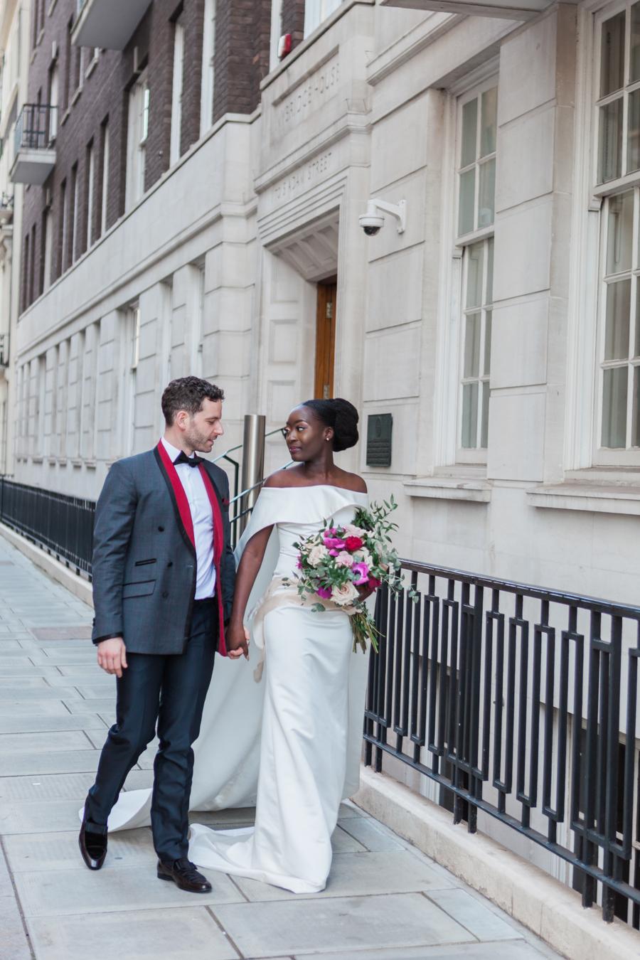 Breathtakingly beautiful - diversity wins in this stunning RSA London wedding editorial! (10)