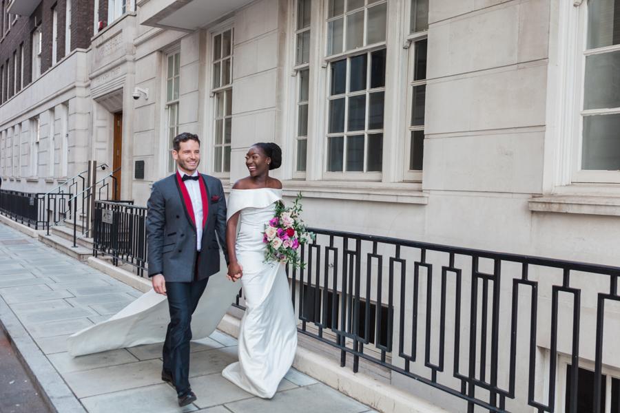 Breathtakingly beautiful - diversity wins in this stunning RSA London wedding editorial! (9)
