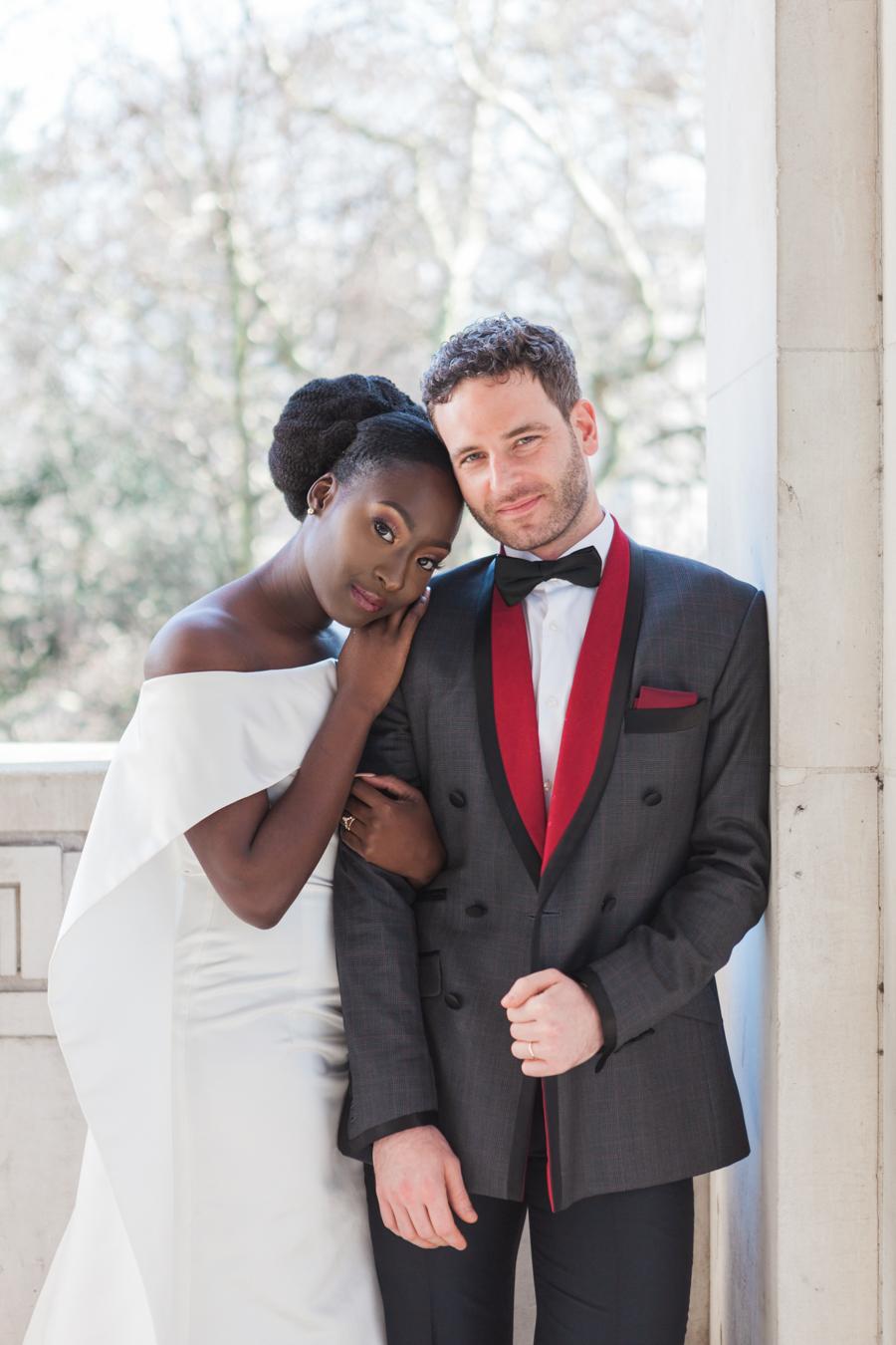 Breathtakingly beautiful - diversity wins in this stunning RSA London wedding editorial! (8)