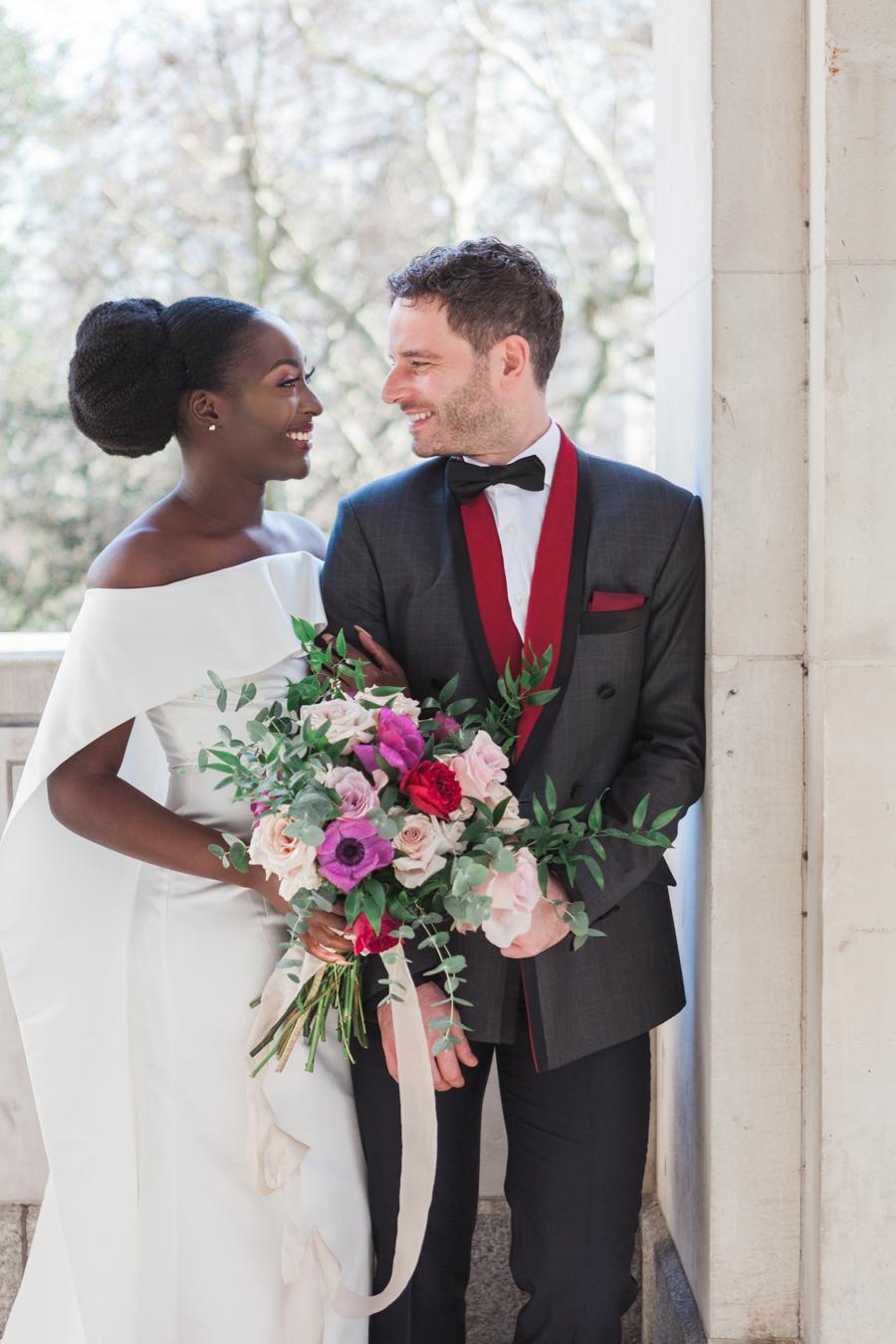 Breathtakingly beautiful - diversity wins in this stunning RSA London wedding editorial! (7)