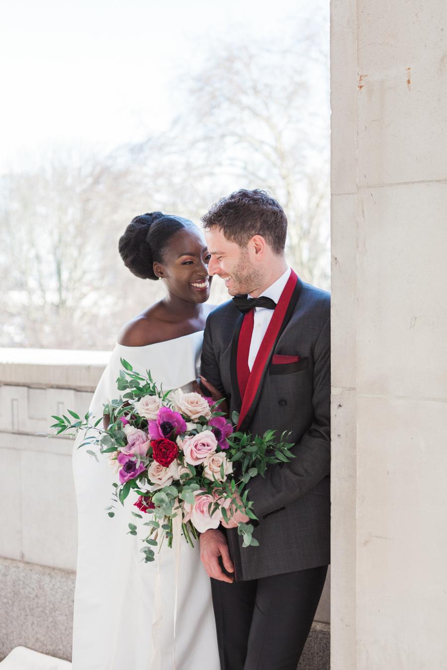 Breathtakingly beautiful - diversity wins in this stunning RSA London wedding editorial! (5)
