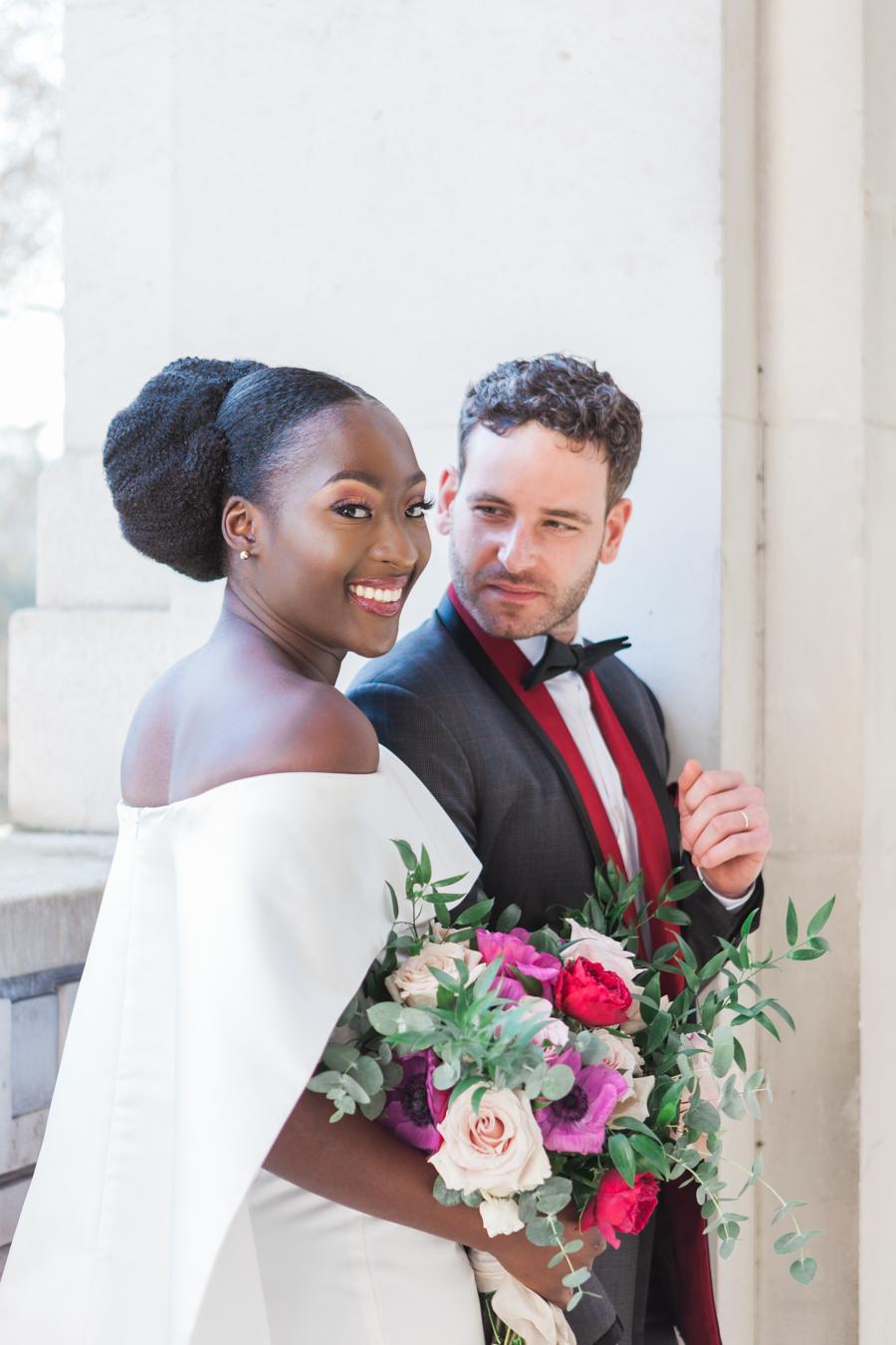 Breathtakingly beautiful - diversity wins in this stunning RSA London wedding editorial! (4)