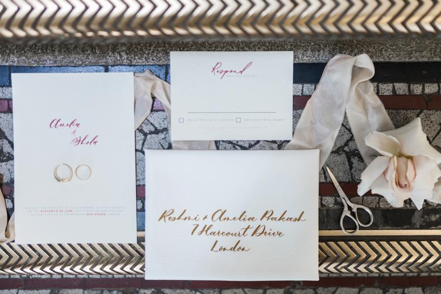 Breathtakingly beautiful - diversity wins in this stunning RSA London wedding editorial! (42)