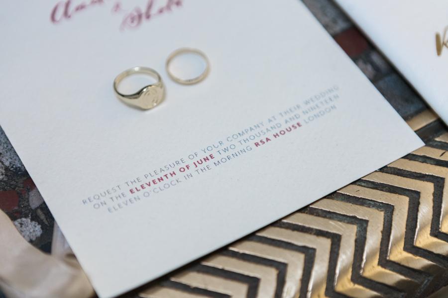 Breathtakingly beautiful - diversity wins in this stunning RSA London wedding editorial! (40)