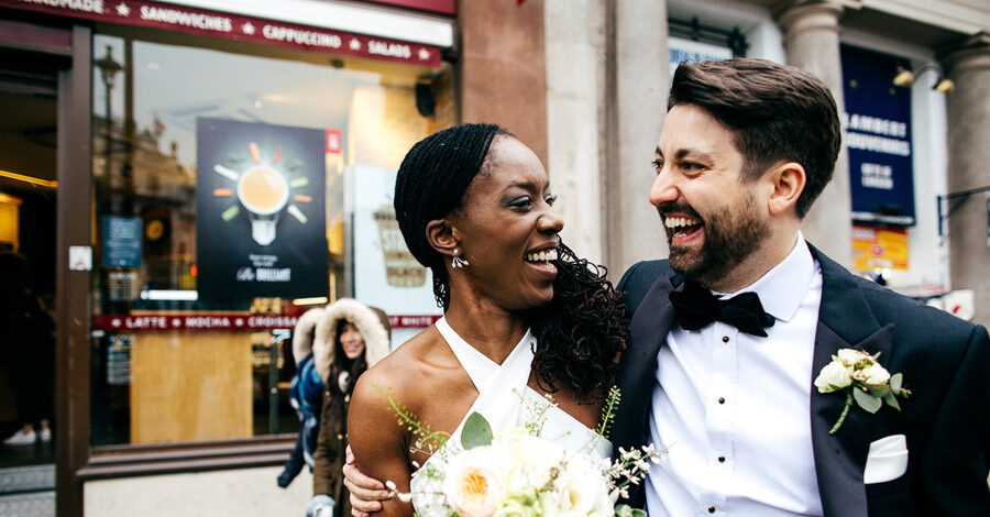 A gorgeous elopement in London, with Jordanna Marston Photography