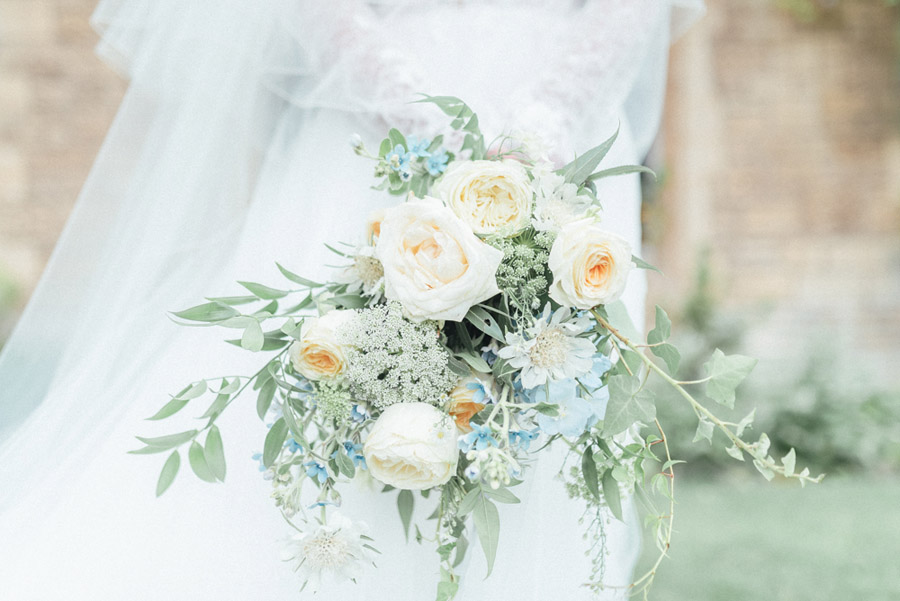 French Manor Styled Wedding Shoot in delicate blues, with Hannah McClune Photography on English Wedding Blog (17)